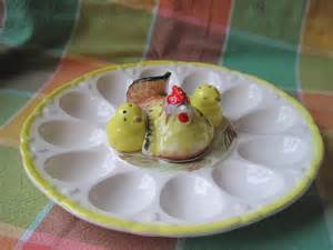 deviled egg plate deviled egg plate with hen and