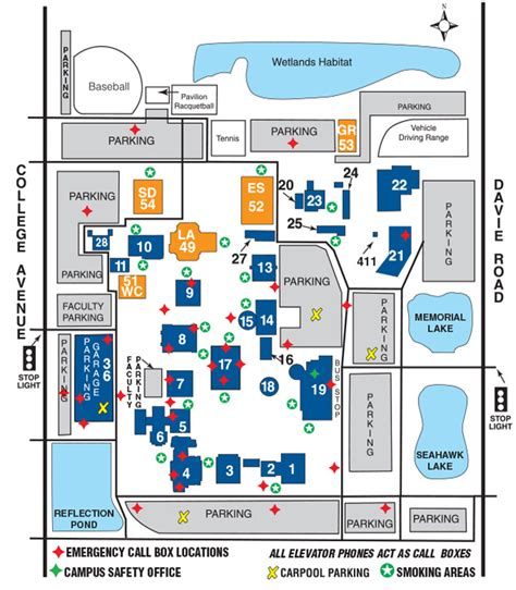 central texas college map broward college a hugh central cus ada map