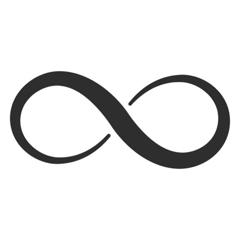 infinite tattoo vector minimalist infinity logo transparent png svg vector