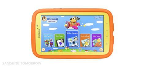 Samsung Tab 4 Hari Ini samsung mengumumkan tablet khusus untuk kanak kanak
