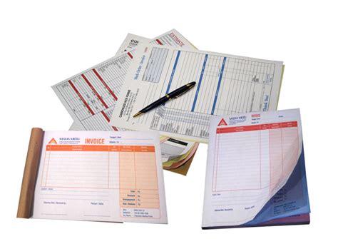 Cetak Nota Faktur Dan Tanda Terima by Cetak Print Nota Invoice Faktur Kwitansi Dan Jenis Buku