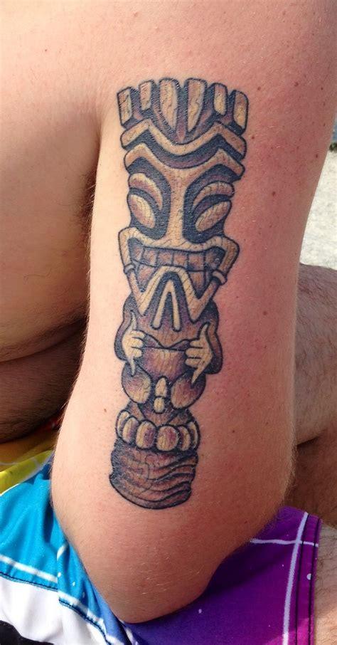 polynesian tiki tattoo designs tiki danny