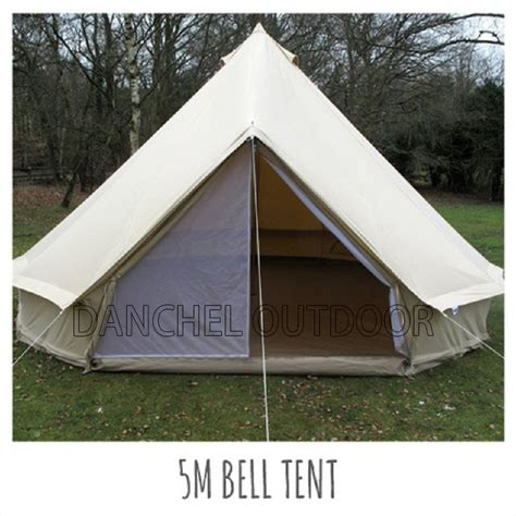 canvas wall tent ball and buck danchel 5m cotton canvas bell tent waterproof tipi tent