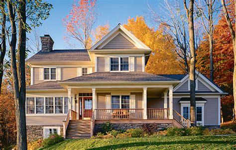 farmhouse elevations country farmhouse house plan 65135