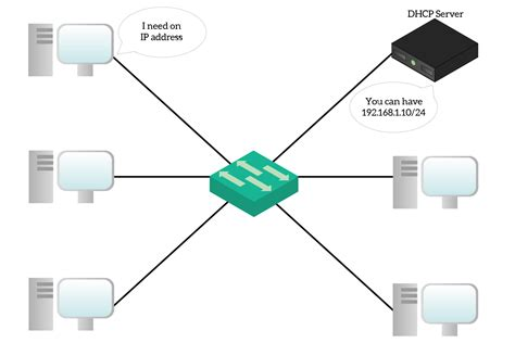 ip client protocols for the network dns dhcp dynamic routing
