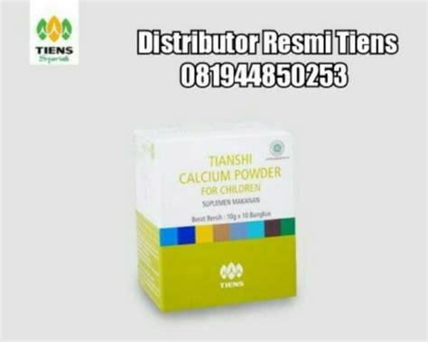 Tiansihi Nutrient Calcium Powder Nhcp Isi 10sc jual paket obat peninggi badan tiens nhcp zinc asli harga termurah