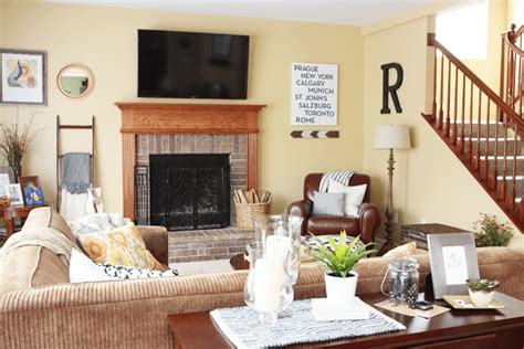 warm and cozy living rooms summer home tour 2014 live laugh rowe