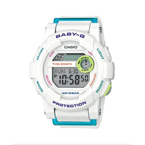 Jam Tangan Pria Casio Baby G Bga 180 Rubber Original Bm casio baby g bgd 180fb 7 indowatch co id