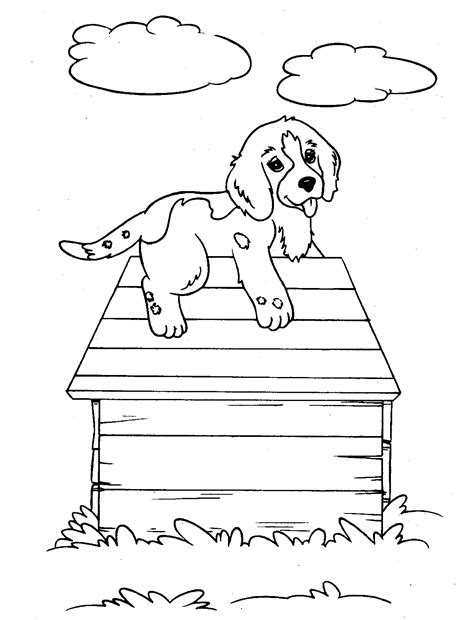 dog coloring pages you can print free printable dog coloring pages for kids