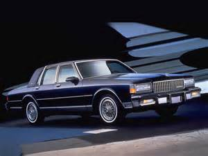 Chevrolet Caprice 1987 Chevrolet Caprice Brougham Ls 1987 1990 Chevrolet Caprice