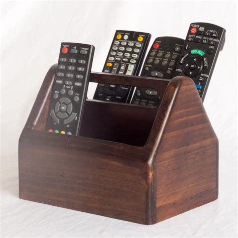 Holder Remote Controls Tempat Naruh Remote wooden remote holder 2 compartments centre handle the australian made caign