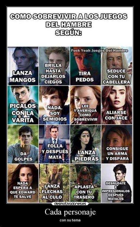 libro divergente en espanol para leer cada personaje desmotivaciones
