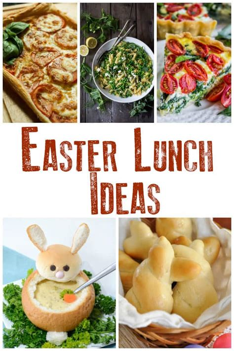 easter recipes for families to help plan your celebrations