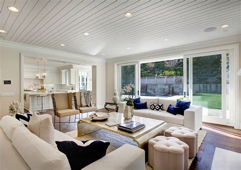 open floor plan kitchen and family room los angeles family home with transitional interiors home
