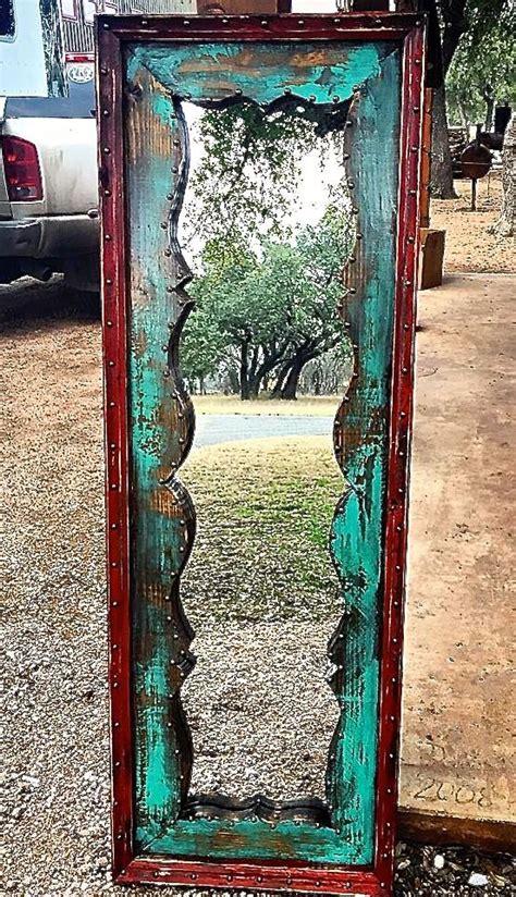 Diy Western Home Decor Fringe Dressing Mirror Sofias Rustic Furniture Sofias Rustic Furniture Fringe Dressing Mirror