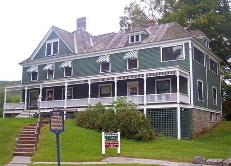 gray house file zane grey house lackawaxen pa jpg wikipedia