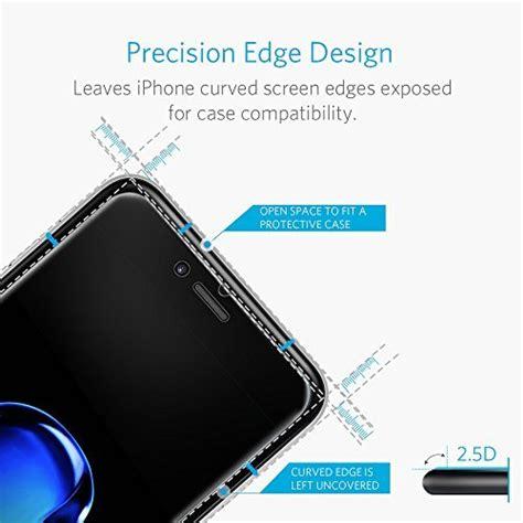 anker tempered glass iphone 7 iphone 7 plus screen protector anker glassguard premium