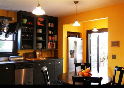 yellow kitchen dark cabinets 17 best images about kitchen makeover on pinterest oak