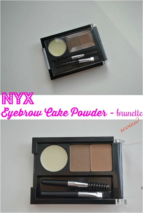 Nyx Eyebrow Cake Powder Review nyx eyebrow cake powder by miss l