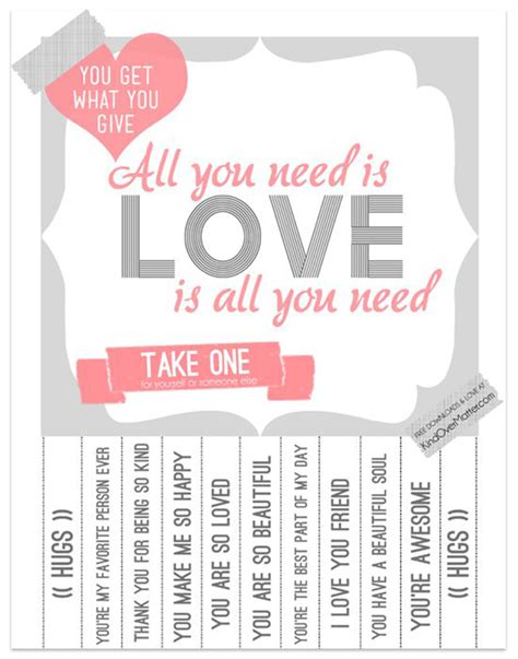 take a compliment 50 posters to pin and treasure books 50 freebies for s day ohoh