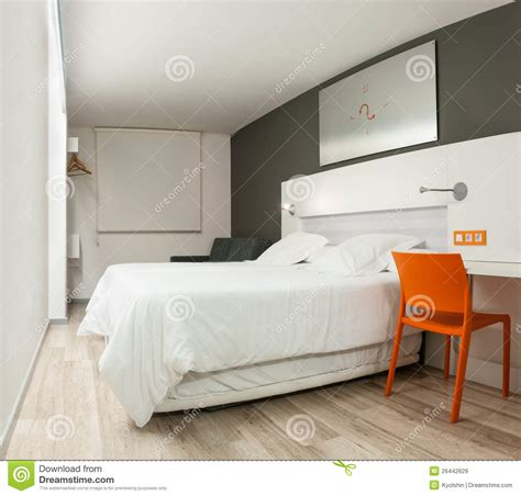 stylish design beautiful hotel room with modern design royalty free
