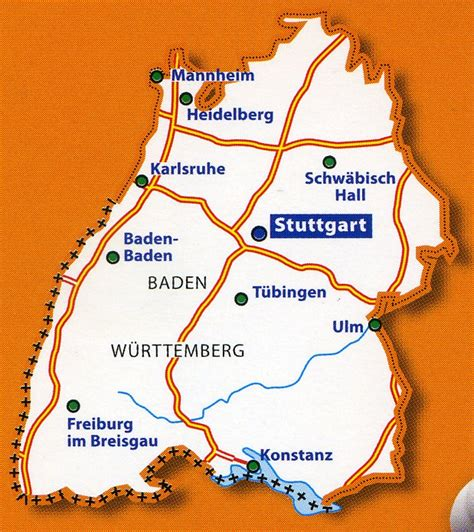 south west germany map michelin map germany south west 1 300 000