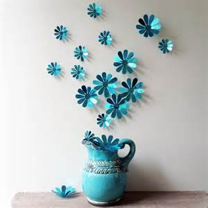 3d Flower Wall Decor by 12 Pcs 3d Flower Wall Decal Vinyl Arts Removable Wall