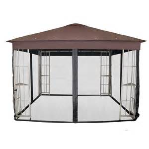 garden treasures insect net for 10 ft square gazebo at