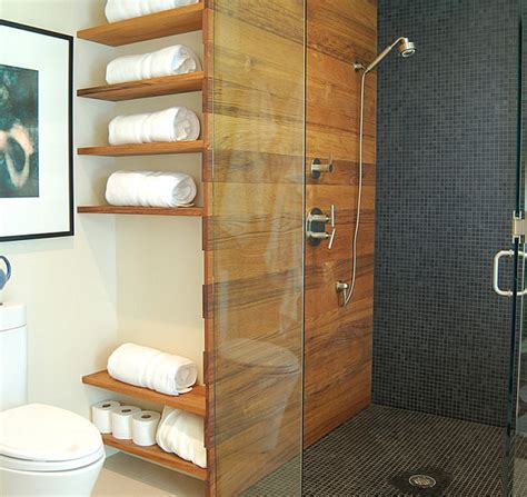 Shelving In Bathroom Bathroom Wall Shelves That Add Practicality And Style To