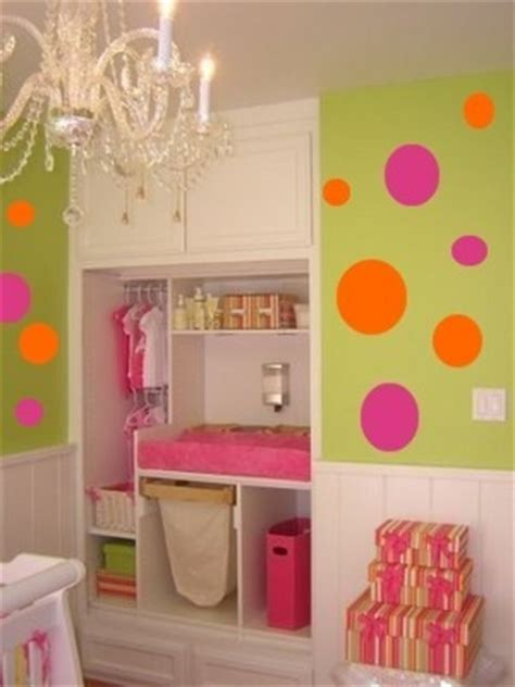 green and orange bedroom ideas green pink and orange polka dots are ageless this makes them ideal for a girls