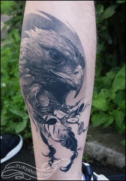 silver eagle tattoo hours oleg turyanskiy eagle tattoo tattoos pinterest
