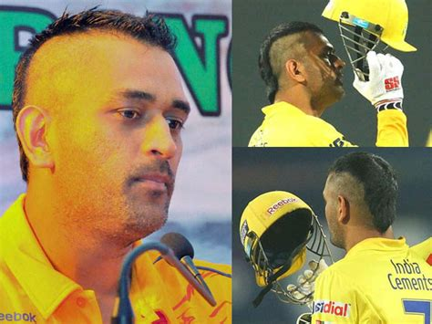 changing hairstyles dhoni hairstyle ms dhoni sports a new mohawk hairstyle boldsky com