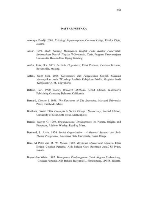 cara format daftar pustaka 15 contoh makalah yang baik dan benar cara membuat