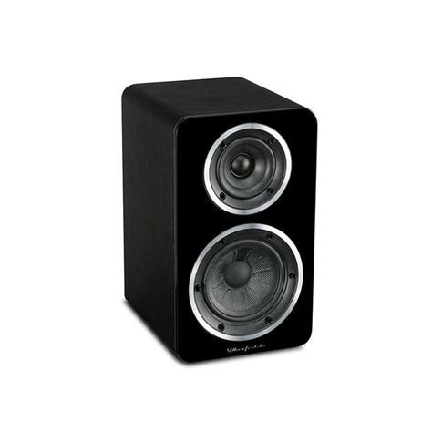 wharfedale a1 black active bookshelf speakers