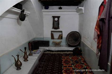 Komil House guided tour through the town of khiva part2 uzbekistan
