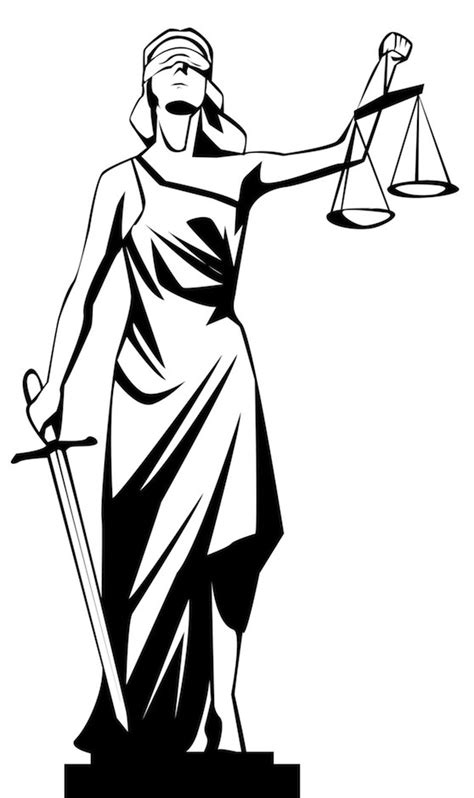 the visual rhetoric of lady justice understanding