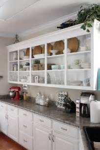 Open Wall Cabinets open kitchen shelving culture scribe