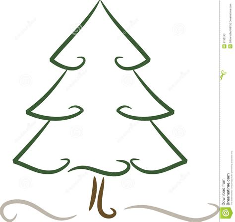 draw a easy christmas tree christmas lights decoration