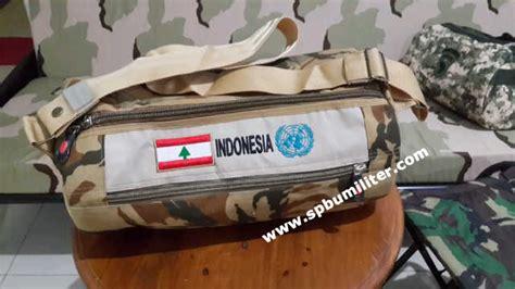 Topi Rimba Loreng Perbakin Au tas slempang airborne loreng spbu militer
