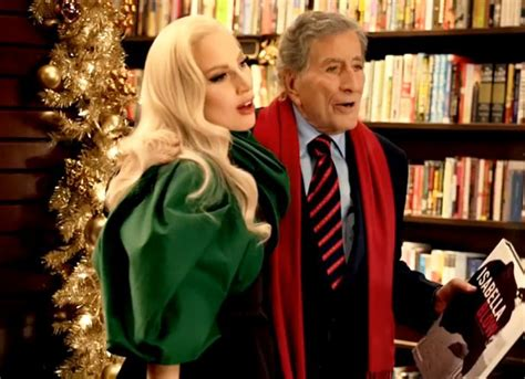 commercial lady gaga barnes and noble watch lady gaga and tony bennet sing beautiful duet of