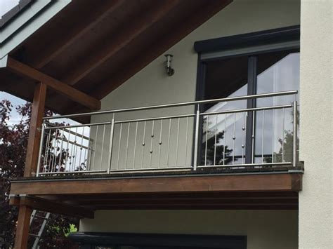 balkongeländer edelstahl metallbau kliewer balkongel 228 nder edelstahl