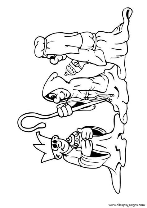 imagenes para pintar reyes magos dibujos reyes magos navidad 016 dibujos y juegos para