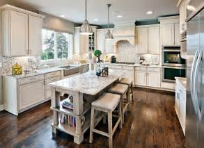 Colors For Kitchens With White Cabinets Family Home Main Floor Color Scheme Ideas Home Bunch