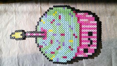 perler creations perler creations perler bead cupcake