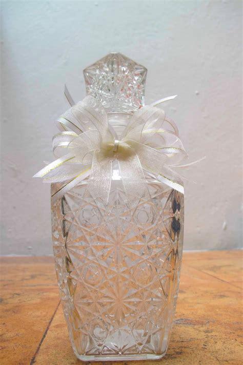 como decorar una licorera para bautizo 12 licoreras de cristal recuerdos para boda xv a 241 os