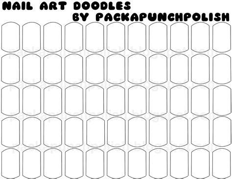 packapunchpolish i made nail art doodle sheets i made