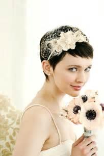 Brides with short hair wedding hairstyle ideas hair romance