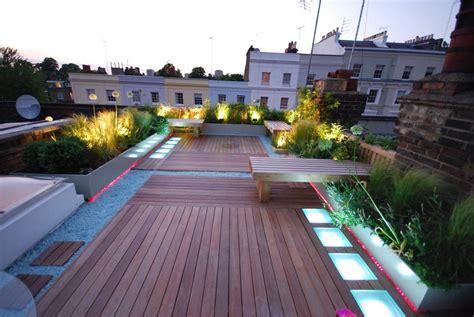 Terrasse Mit Dach by Roof Terrace Rowe Garden Design