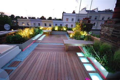 Roof Terrace   Charlotte Rowe Garden Design
