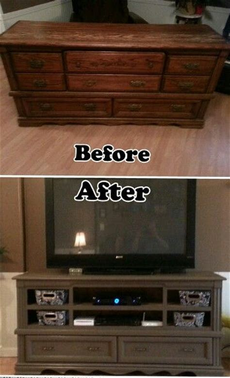 Diy Dresser Into Entertainment Center by 25 Best Ideas About Redone Dressers On Diy